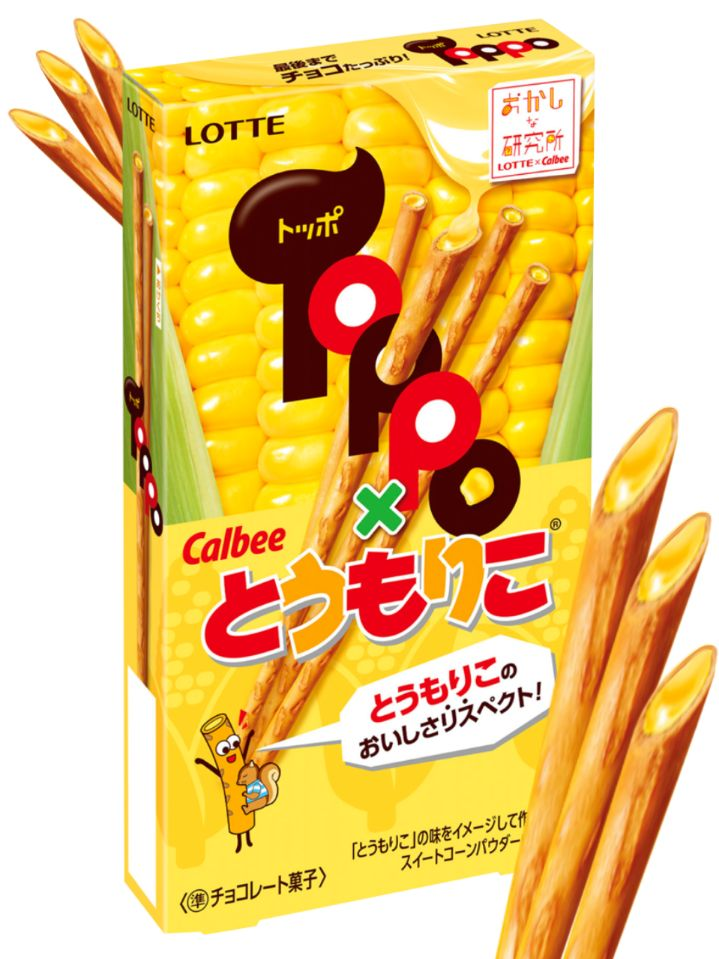 Palitos toppo chocolate blanco 72g