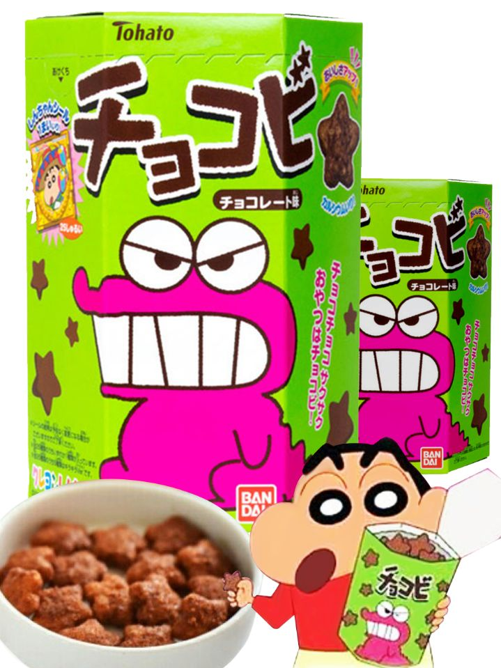 Shin Chan Chocolate Snacks 25g