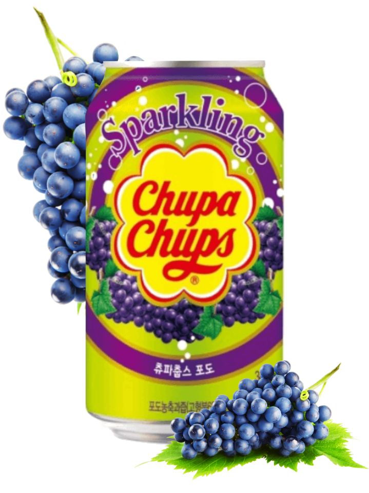 Refresco Chupa Chups Sabor a Uva 335ml