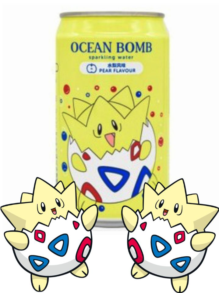 Ocean Bomb & Pokémon Pera 330ml - Togepi